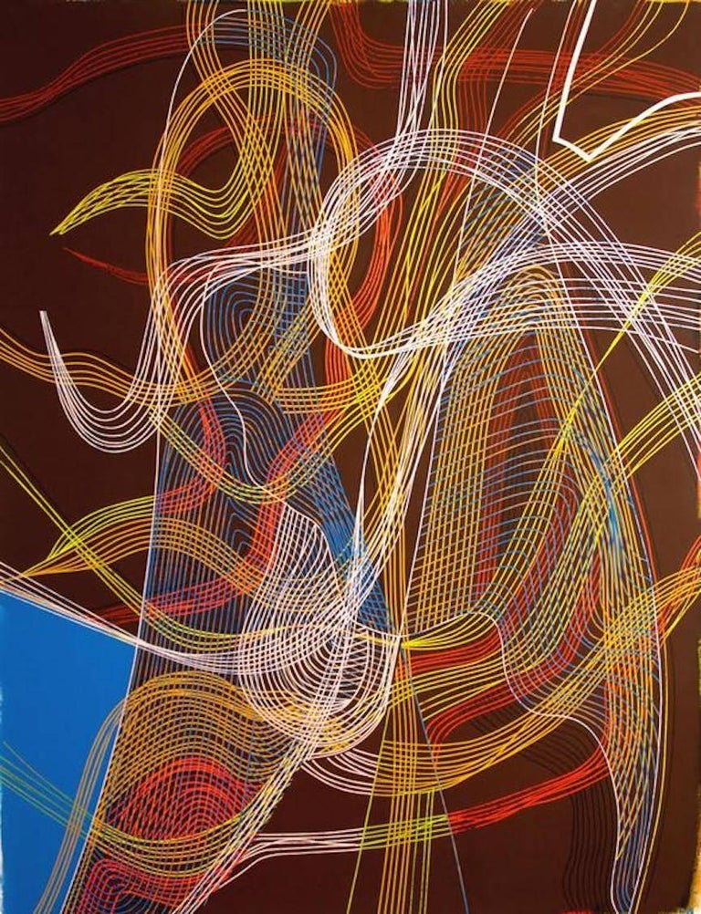 Cecilia Biagini Abstract Painting - Spell Thought