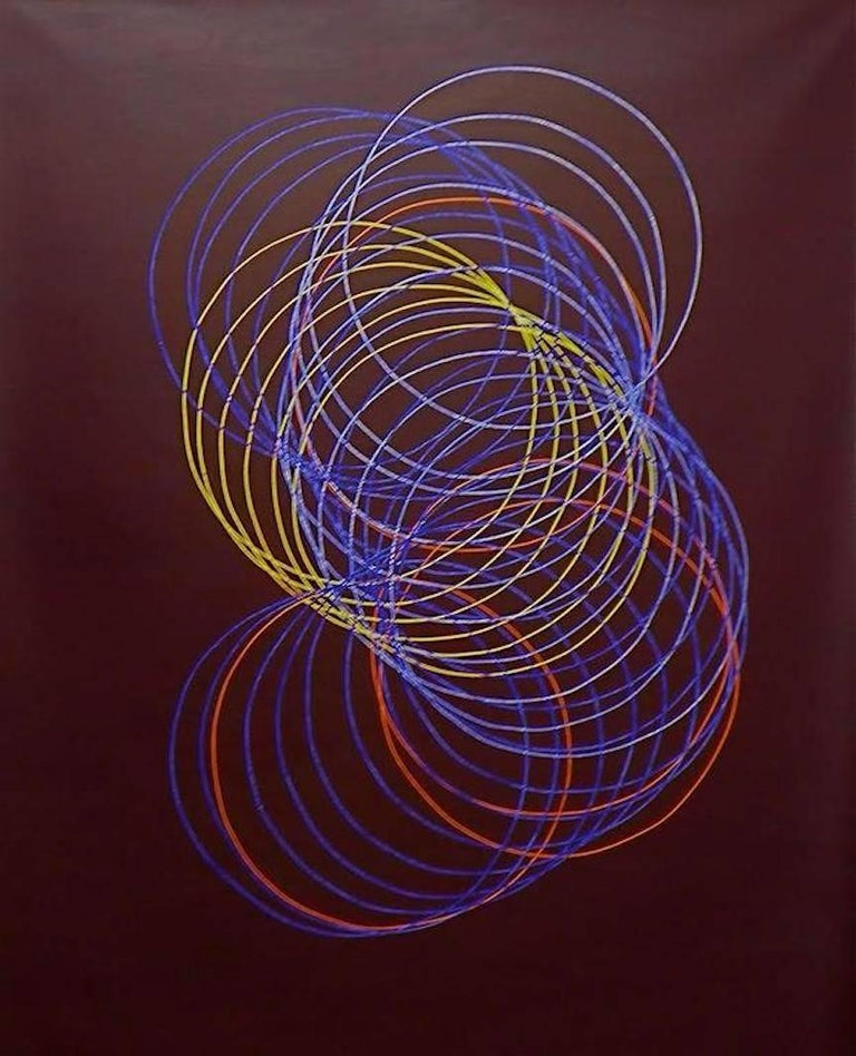 Cecilia Biagini Abstract Painting - Full Circle