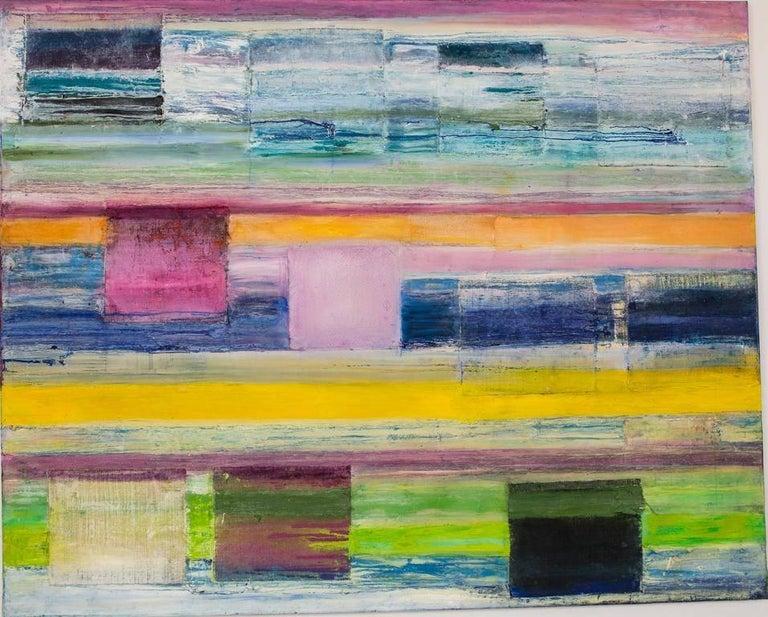 Martin Reyna  Abstract Painting - Señalización