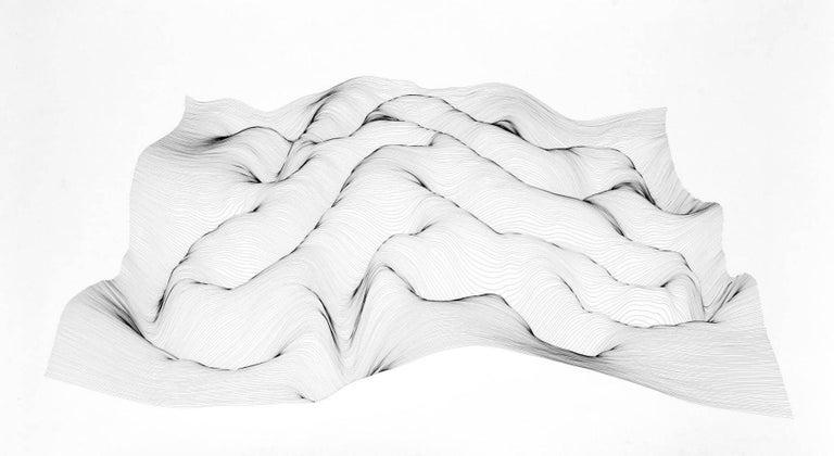 Julian Teran Abstract Drawing - P10
