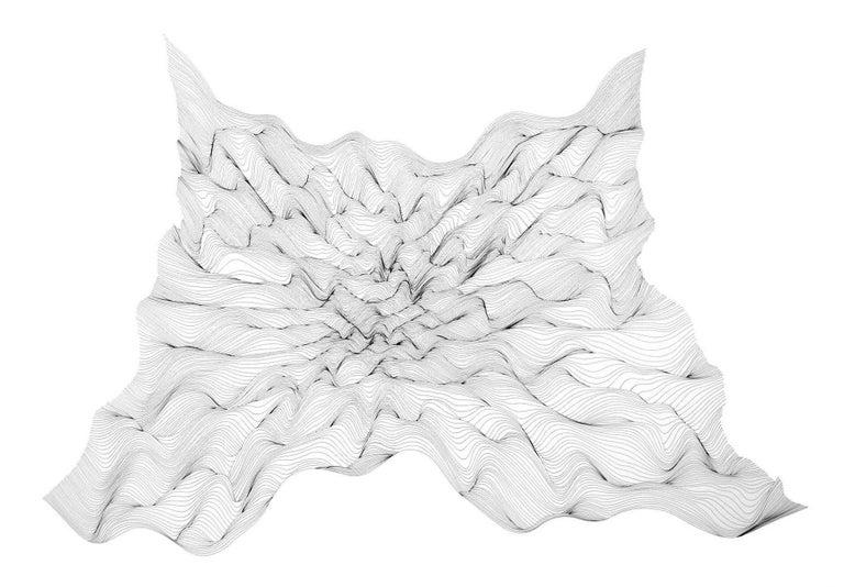 Julian Teran Abstract Drawing - P08
