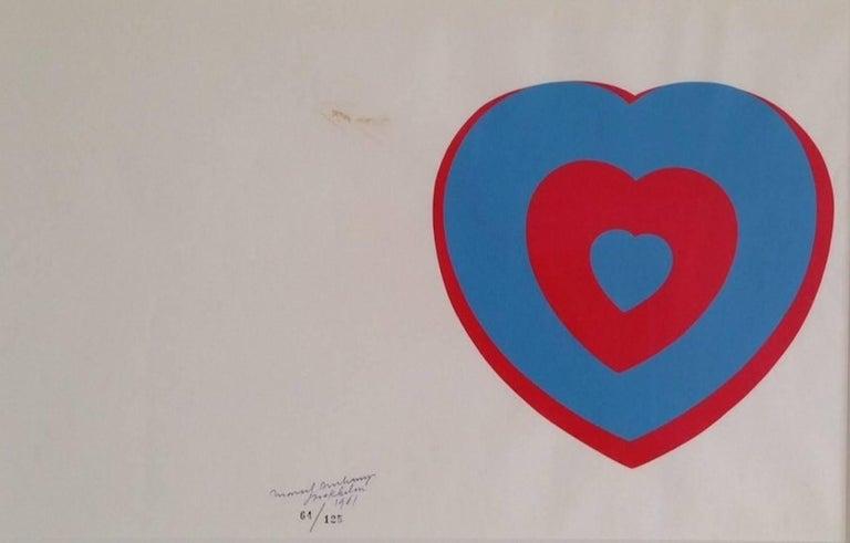 Marcel Duchamp - Coeurs Volants [Fluttering Hearts] 1