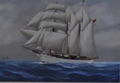 "The steam yacht ""Sunbeam"","
