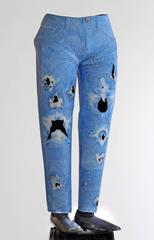 Holey Skinny Jeans