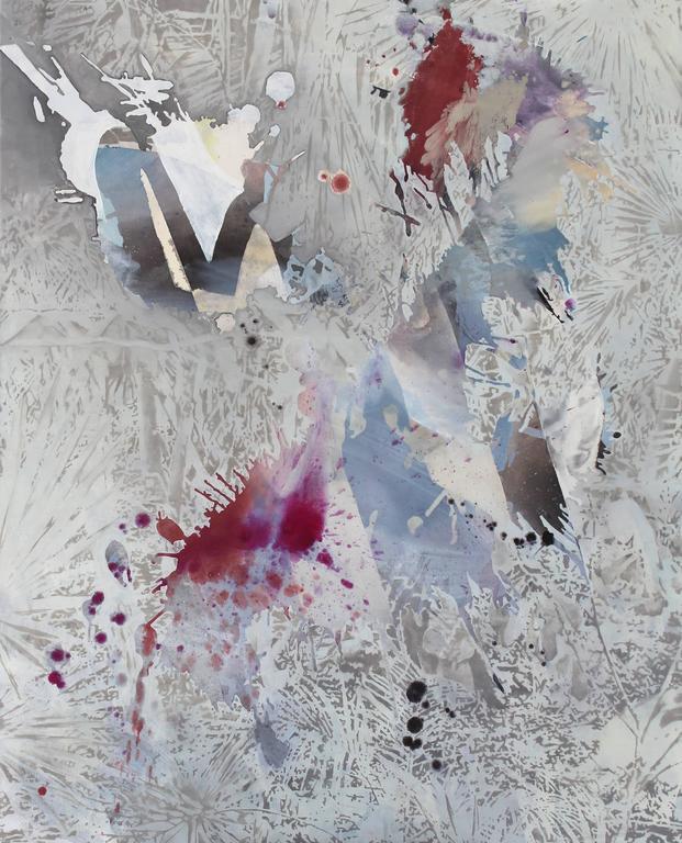 Jutta Haeckel Abstract Painting - Paradise and Paradox