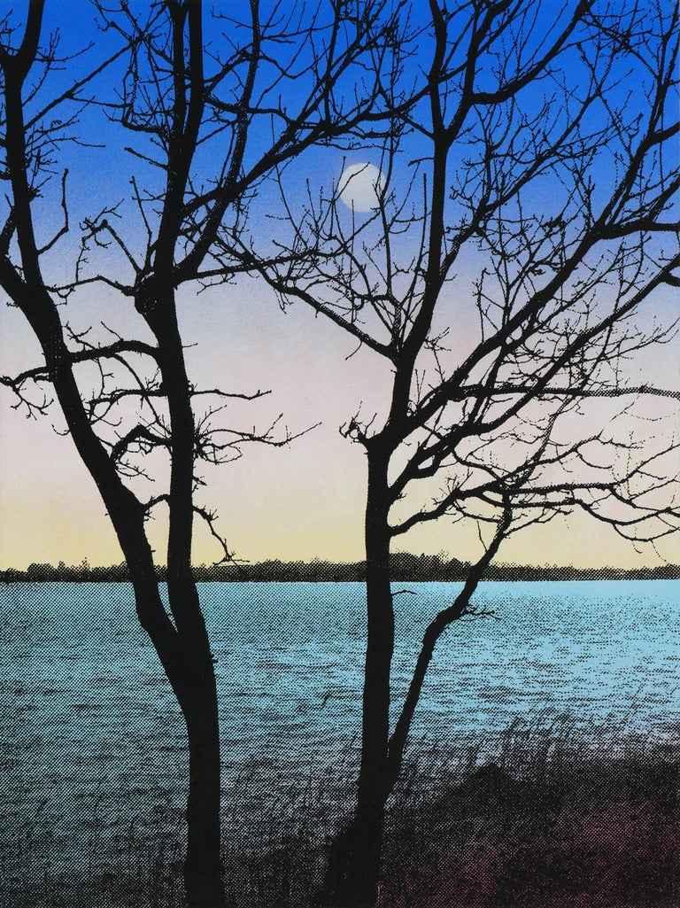 Birgit Jensen Landscape Painting - KAGAMI RU