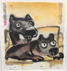 Two Dogs, Untitled