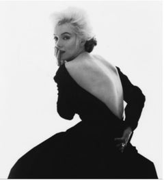 Marilyn Monroe in Black Dior Dress (from The Last Sitting, Vogue), 1962