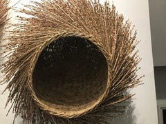hand woven basket from israel