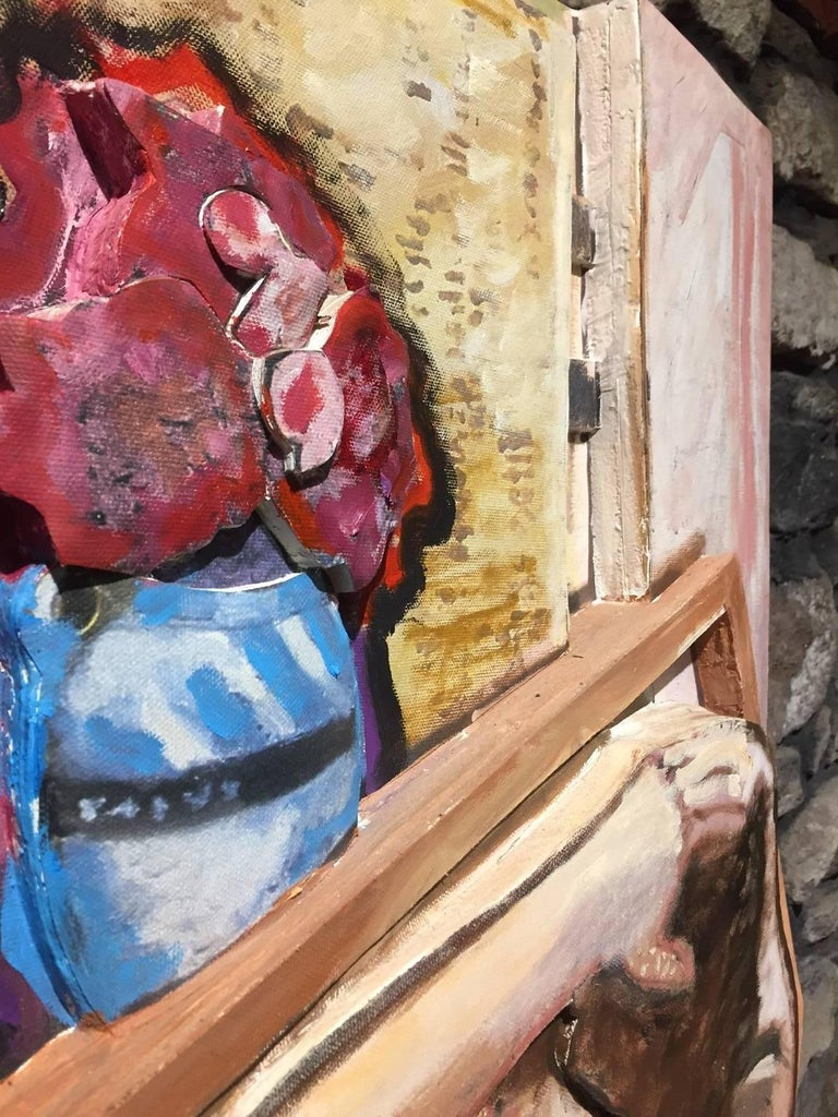 Larry Rivers Untitled Wood Cutout Mixed Media At 1stdibs