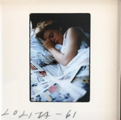 Lolita Sleeping with Comic Books - Sag Harbor 1961