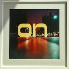 On First Sight, NYC, 1968 (Shapes & Symbols, Mid-Century, Abstract Photography)