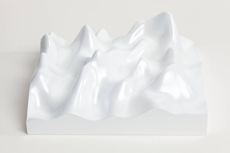 Unknown Pleasure, Miraval 5311, Scenic white on white background