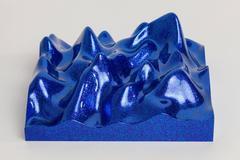 Unknown Pleasure, Metal Flake 013118 blue indigo