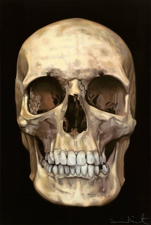 Damien Hirst Print - The Skull Beneath the Skin