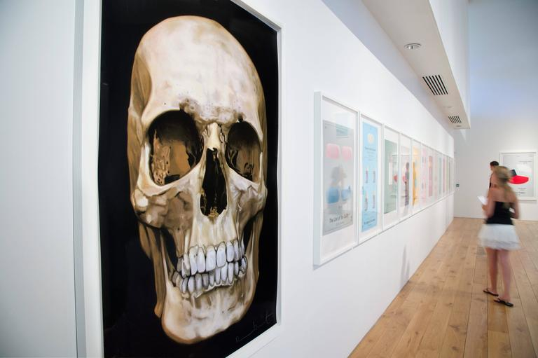 The Skull Beneath the Skin - Print by Damien Hirst