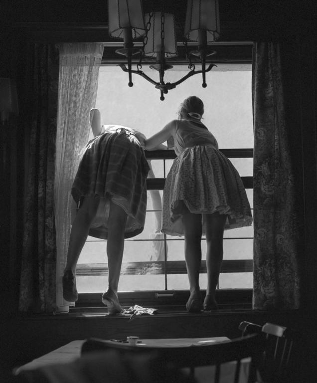 Fred Stein - Window Washers 1