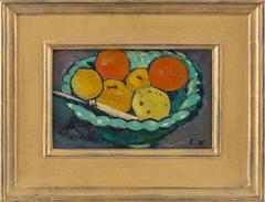 Coupe verte, oranges et citrons