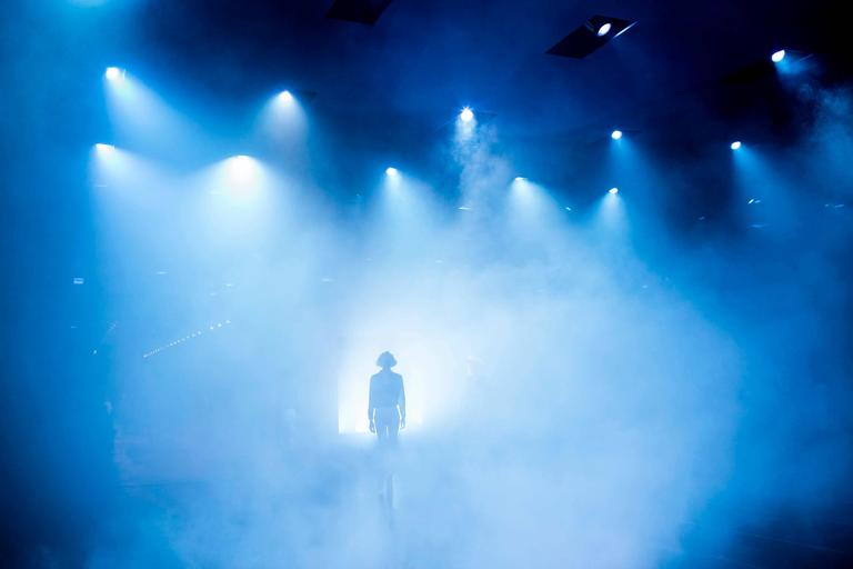 Dior Rehearsal (with blue smoke)