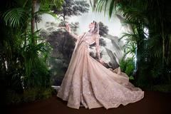 Elie Saab Couture (with Anna Cleveland)