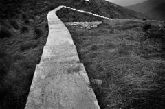 "Beautiful Hilly Stairs, Black and White Photography by Indian Artist ""In Stock"""