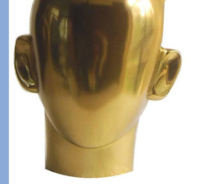 Krishna, Hindu God, Bronze Sculpture, Indian Artist K.S. Radhakrishnan