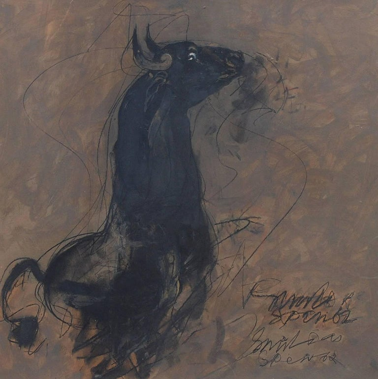 Sunil Das Early Horses Symbolic Of Energy Aggression And Power