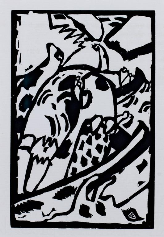Wassily Kandinsky Abstract Print - Improvisation