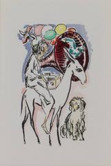 The Parade -La Garconne Series (Le Defile) color pochoir