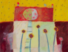 """""""Days Like These,"""" an Acrylic on Paper by Karen Hoepting"""