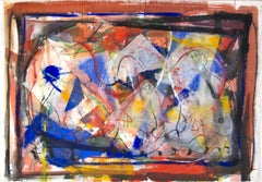 """""""What Was Before Becomes Now,"""" an Abstract Mixed Media signed by Dan Muller"""