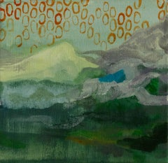 """""""Be a Mountain,"""" an Acrylic on Canvas by Ananda Kesler"""