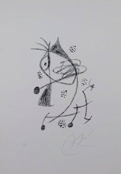 """From Maravillas con Variaciones Acrosticas en el Jardin de Miro"""" Original Litho"""
