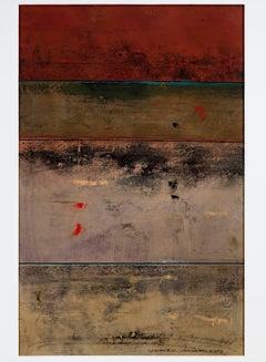"""Shibumi IV-17,"" an Abstract Mixed Media Signed by John Baughman"