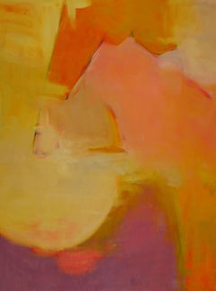 """Except for Then,"" an Abstract Oil Painting on Canvas by Dierdre Schanen"