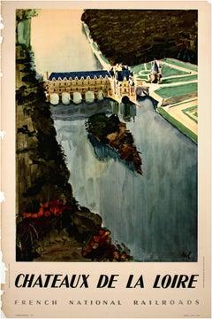 """""""Chateaux De La Loire (Societe Nationale des Chemins de Fer Francais)"""""""