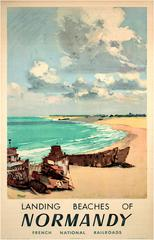 Normandy, a.k.a. Landing Beaches of Normandy, French National Railroads