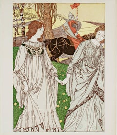 """Le Passant,"" Original Color Lithograph"