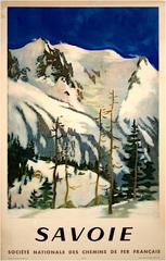 """""""Savoie (Societe National des Chemins de Fer Francais),"""" by L.J. Fontanarosa"""