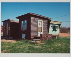 """Beauty Salon, Quapaw, OK,"" Photograph signed by Thomas Ferderbar"