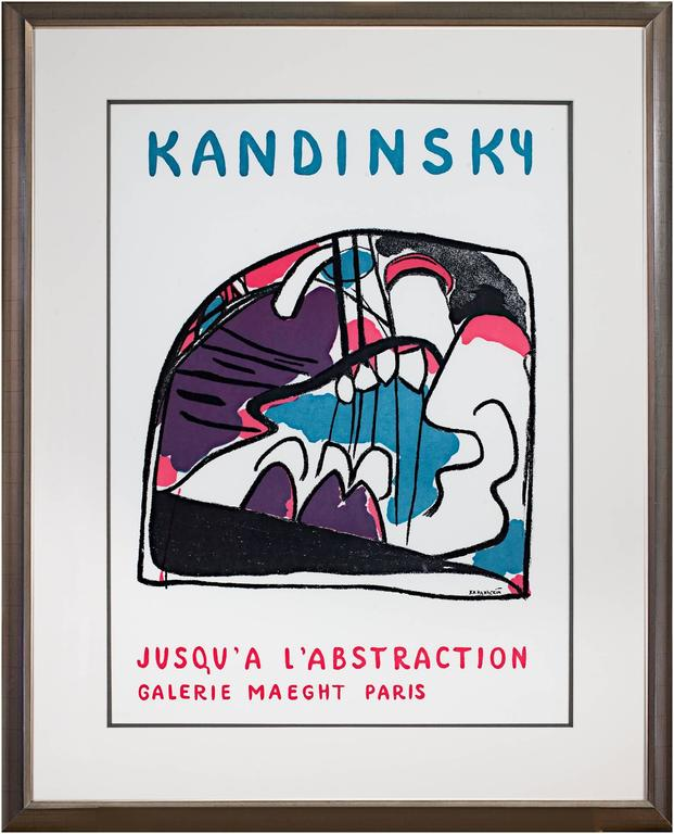 Jusqu'a L'Abstraction - Print by Wassily Kandinsky
