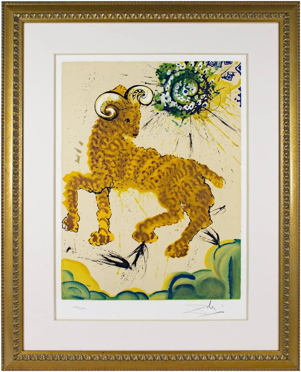 Signs of the Zodiac Series: Aries - Print by Salvador Dalí