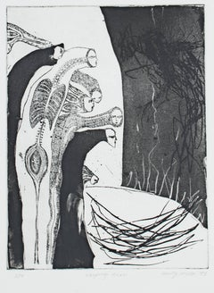 """""""Weeping Tree,"""" an Etching & Aquatint signed by Molly McKee"""