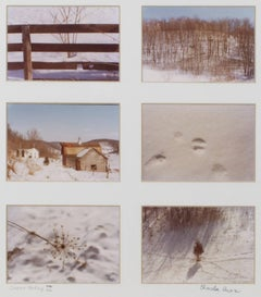 """Country Medley II, signed (Series of 6),"" Winter Photographs by Charles Auer"