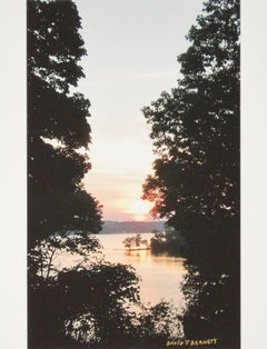 """Beaver Lake Sunrise,"" a Photograph signed by David Barnett"