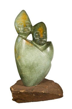 """Together Forever,"" an Opal Carving by Tendai Marowa & Stanley Chideu"