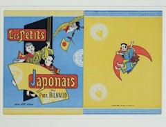 """""""Les Petits Japonais,"""" Original Color Lithograph by Jules Chéret"""