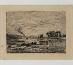 Le Bateau a Conflans/Le Paysagiste au Bateau