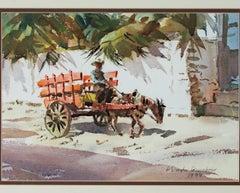 The Orange Cart, Mazatlan, Mexico