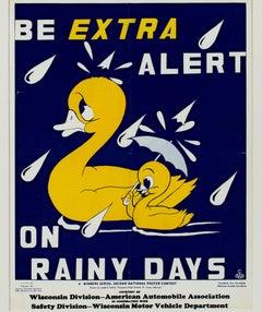 Be Extra Alert on Rainy Days